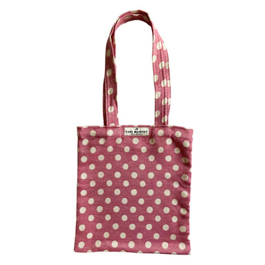 Dotty Spot Tote Bag in Radish