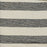Fastnet Stripe Cotton Fabric Black