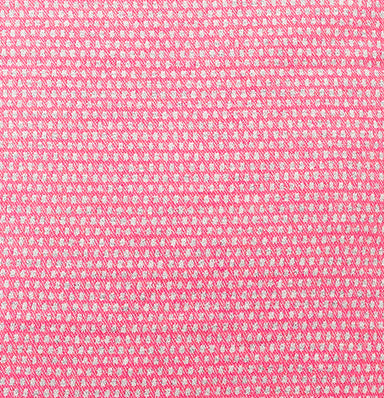 Classic Clarendon Wool Fabric Hot Pink and Grey