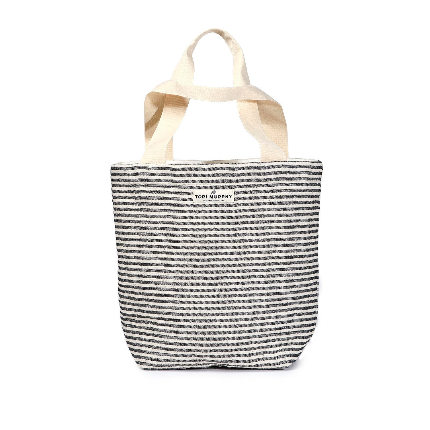 Harbour Stripe Quilted Cotton Tote Bag
