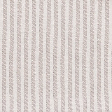 Harbour Stripe Cotton Fabric Fawn