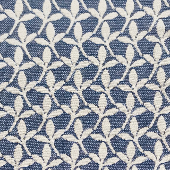 Little Cress Cotton Fabric Navy
