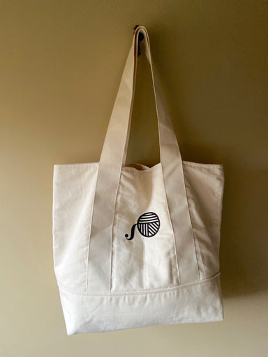 Cotton Tote Bag in Calico