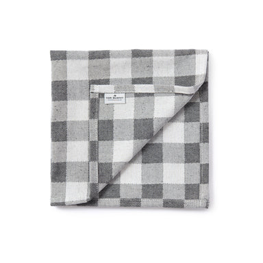 Woodhouse Check Napkin Set of 4, Black