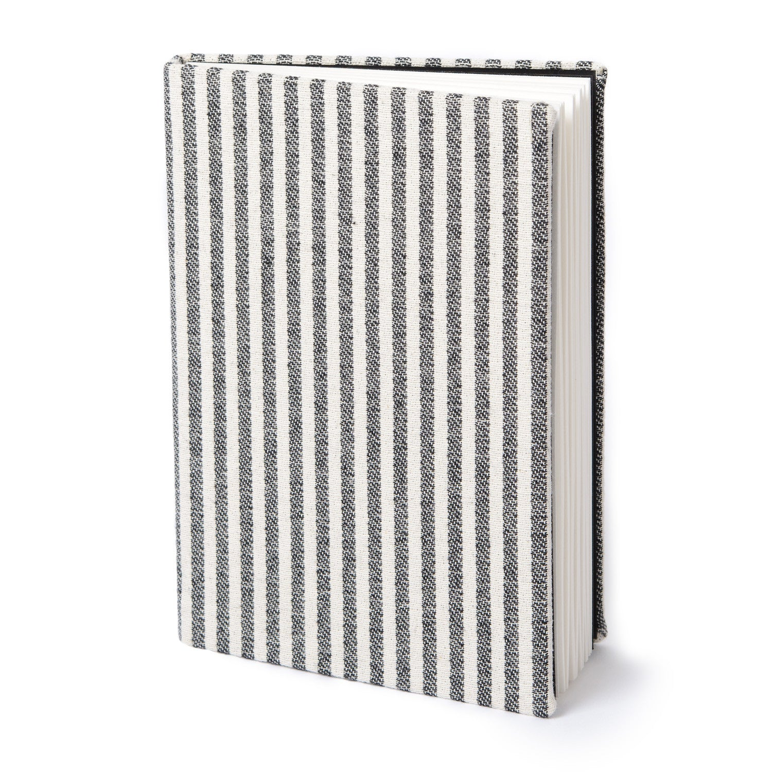 Harbour Stripe Notebook Black