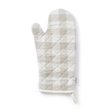 Woodhouse Check Oven Glove Fawn