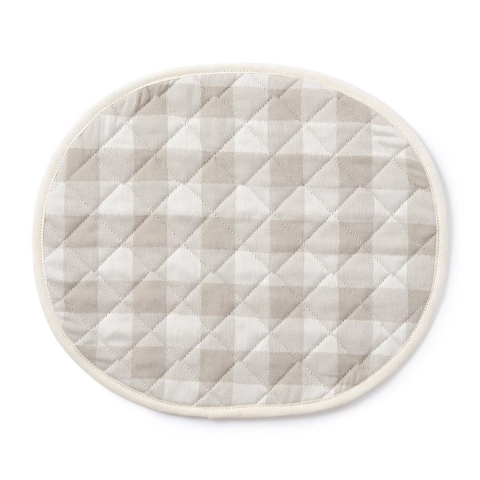 Woodhouse Check Placemat Fawn