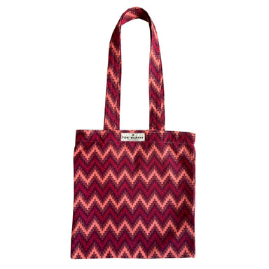 Repton Chevron Tote Bag in Red