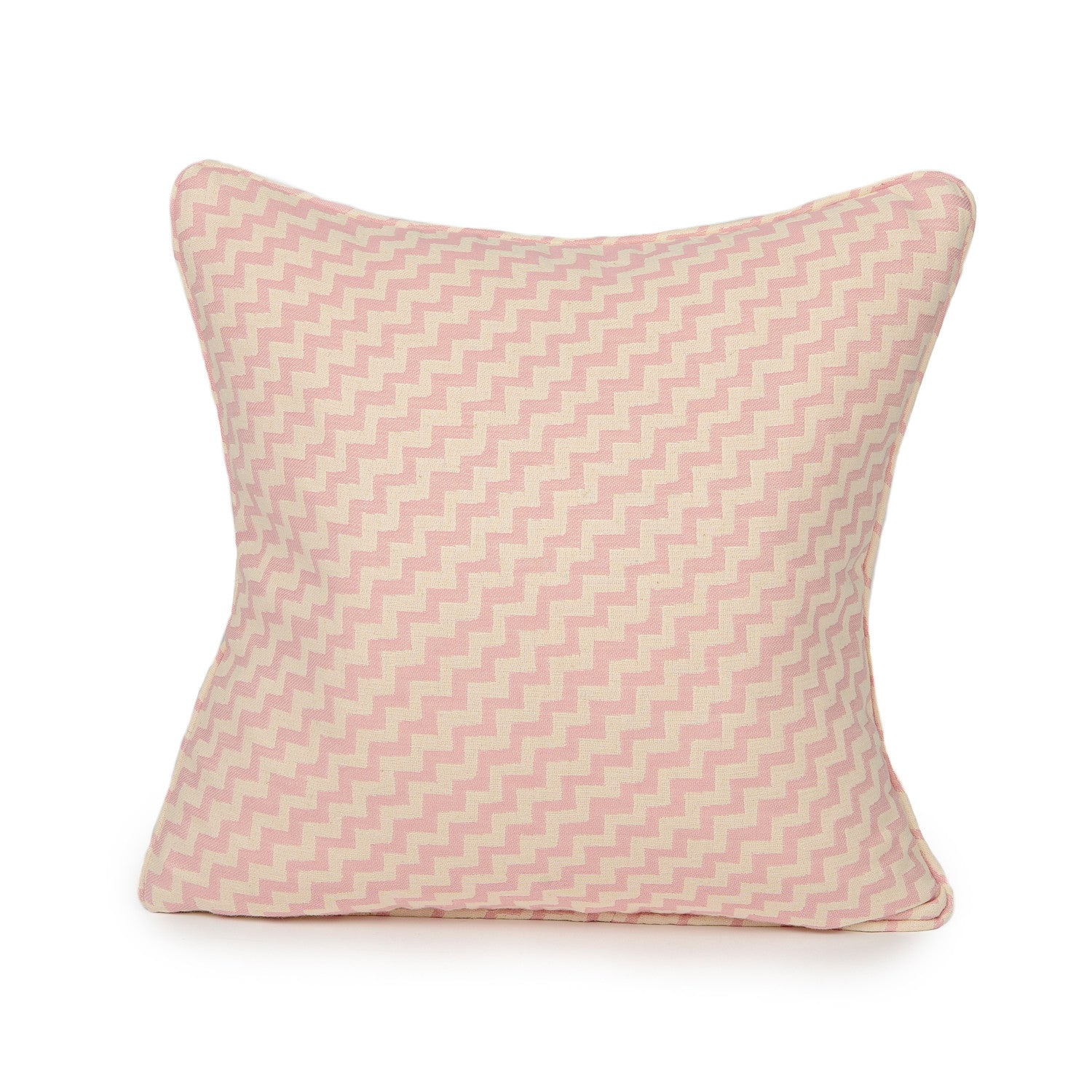 Climbing Chevy Cushion Rose and Cream
