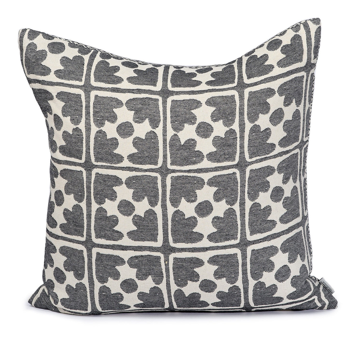 Seedling & Bloom Cushion Black