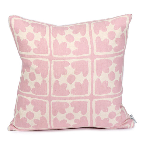 Seedling & Bloom Cushion Rose