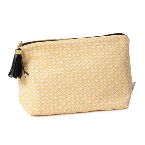 Seedling Large Wash Bag Mustard