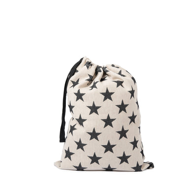 Santa Sacks | Antares Star | Black and Linen| Tori Murphy