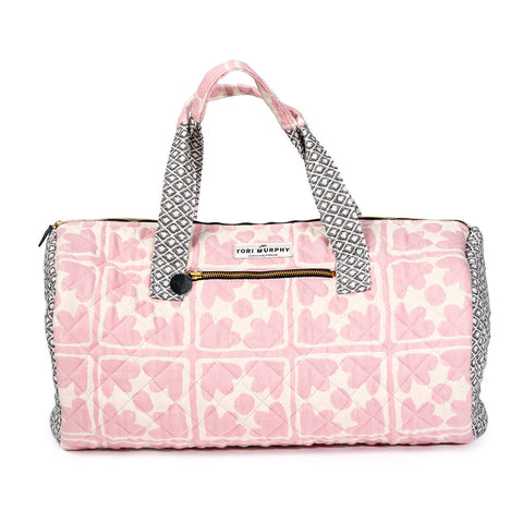 Seedling & Bloom Quilted Cotton Weekend Bag