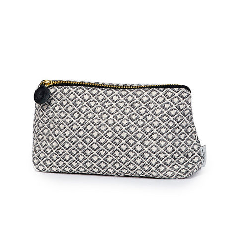 Seedling Cotton Make-up Bag Black