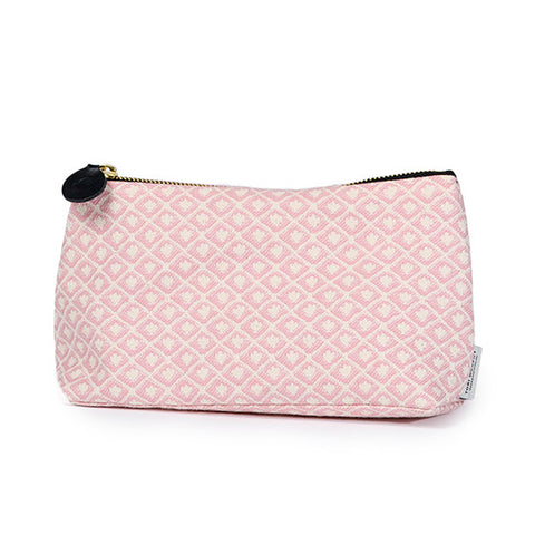 Seedling Cotton Make-up Bag Rose