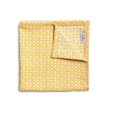 Seedling Napkin Set of 4, Mustard