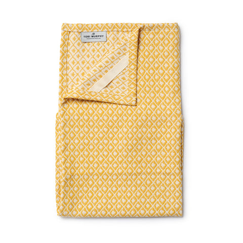 Seedling Tea Towel Mustard