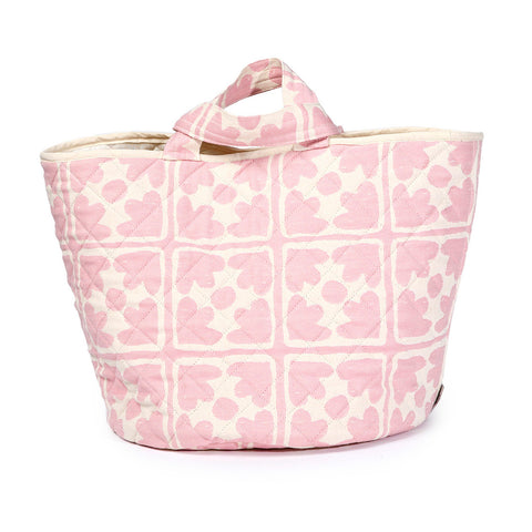 Bloom Storage Basket Rose