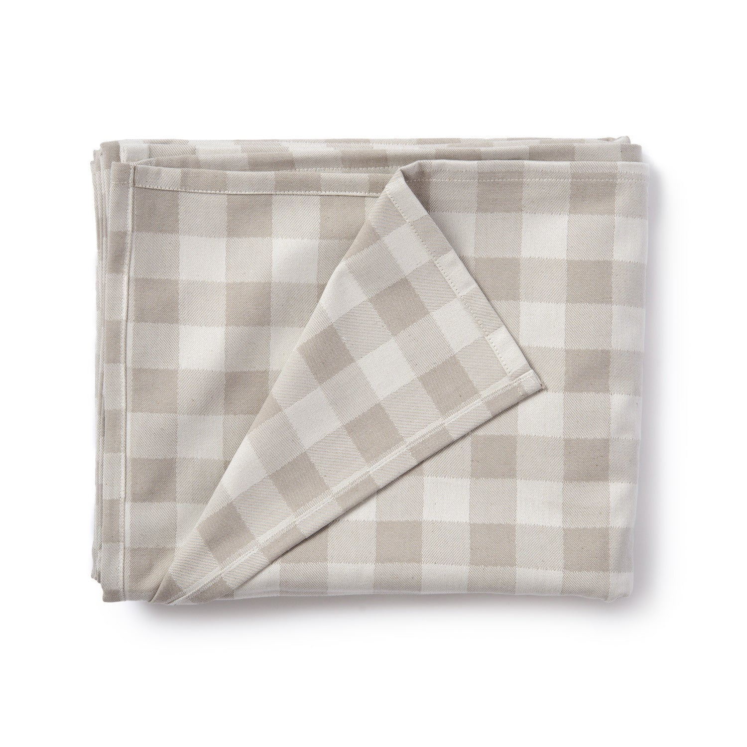 Woodhouse Check Table Cloth Fawn