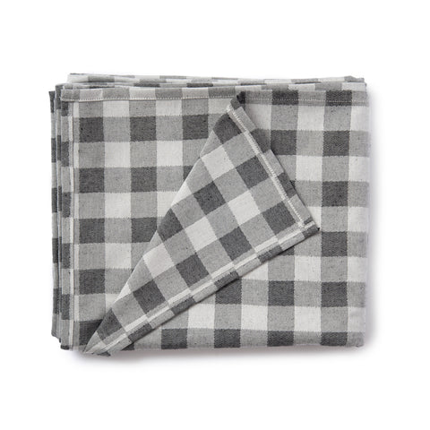 Woodhouse Check Table Cloth Black
