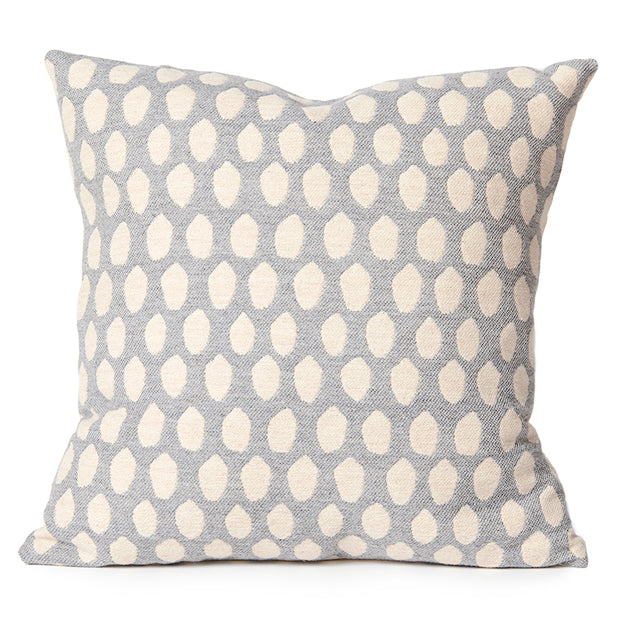 Elca Cushion Linen on Grey