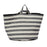 Fastnet Stripe Storage Basket Black