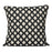 Cadogan Check Cushion Black