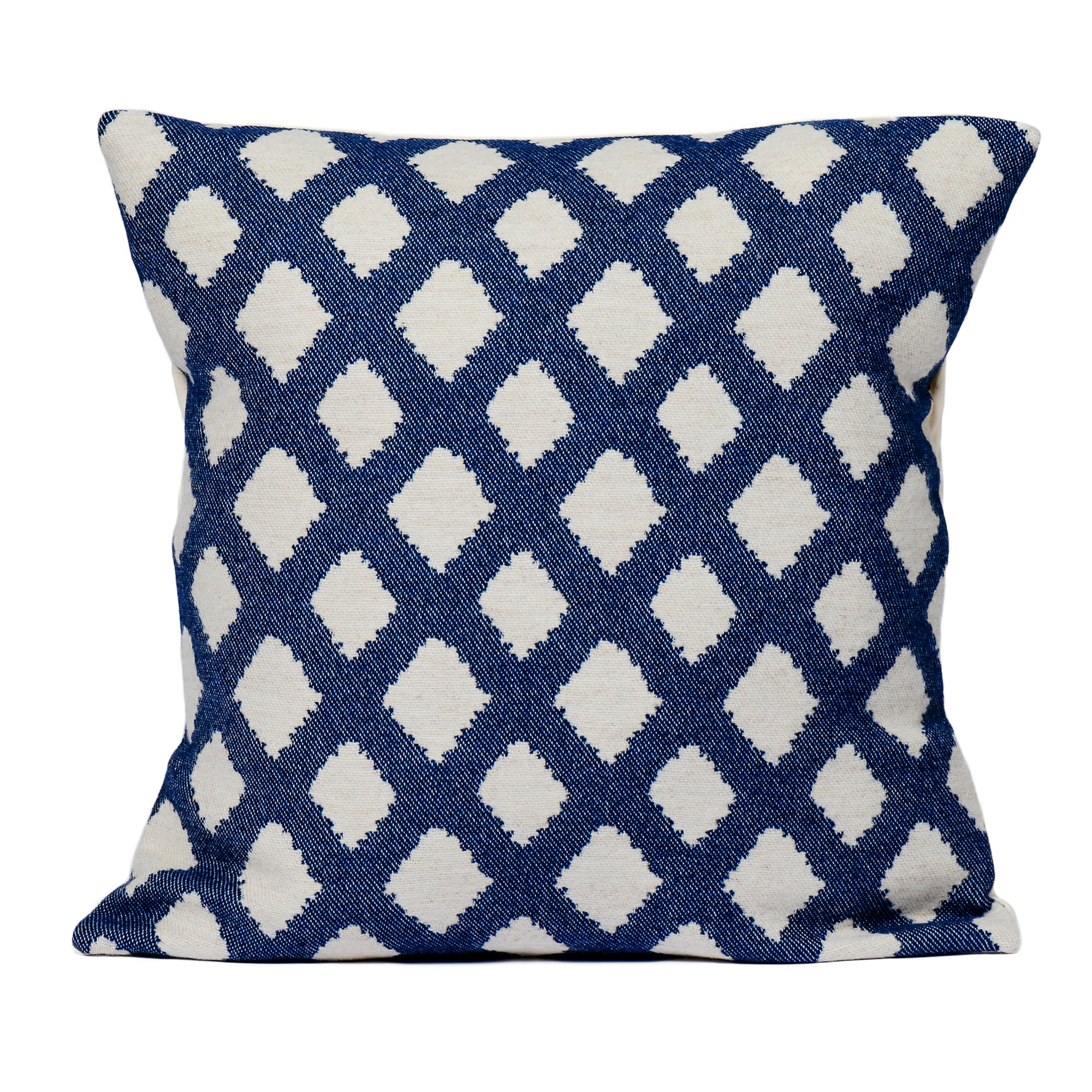 Cadogan Check Cushion Navy