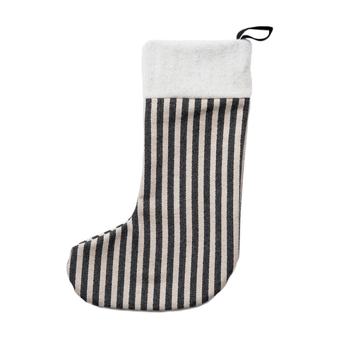 Merino Lambswool Christmas Stocking | Harbour Stipe