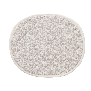 Boulder Placemat Fawn Ecru | Luxury Quilted Placemats