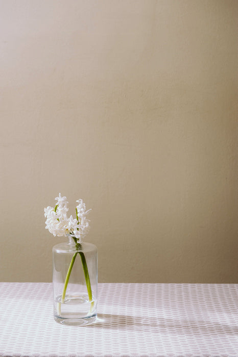 Elca Cotton Table Cloth - Fawn and Linen