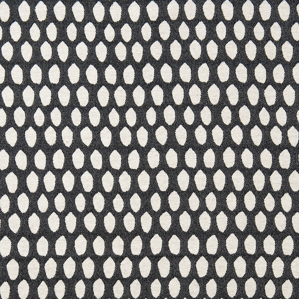 Elca Wool Fabric Black and Linen