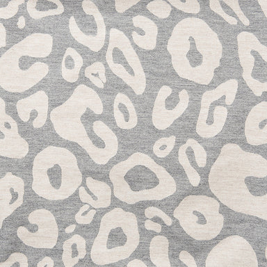 Merino Lambswool Fabric – Large Hamilton Spot Grey and Linen fabric-Tori Murphy Ltd