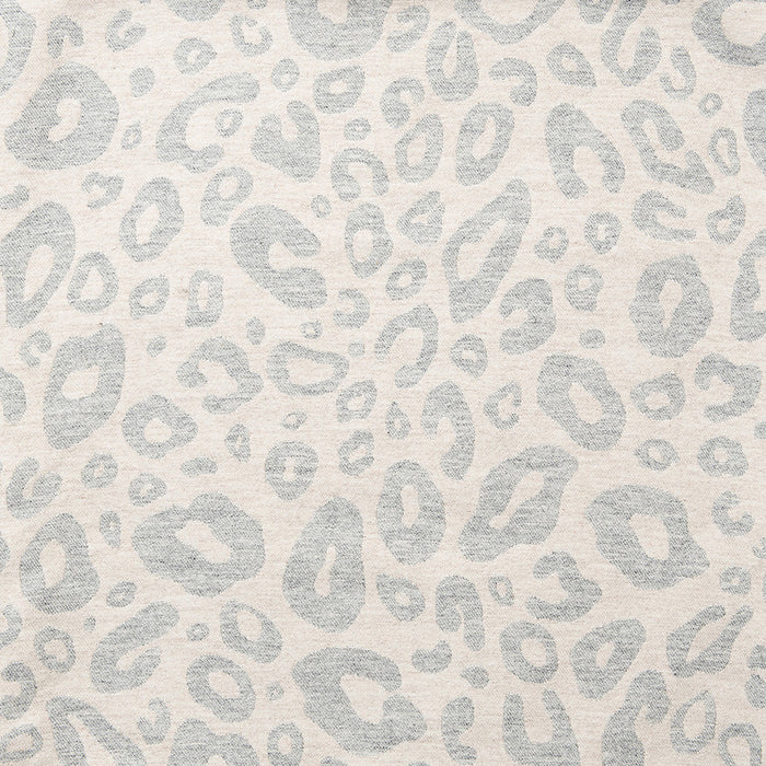 Merino Lambswool Fabric - Small Hamilton Spot Grey and Linen fabric-Tori Murphy Ltd