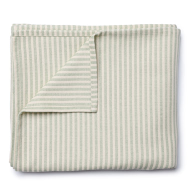 Harbour Stripe Table Cloth Olive