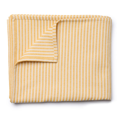 Harbour Stripe Table Cloth Mustard