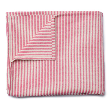 Harbour Stripe Table Cloth Radish