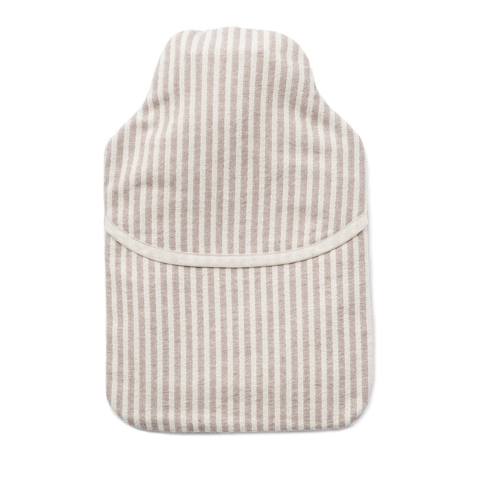 Brushed Cotton Hot Water Bottle | Harbour Stripe
