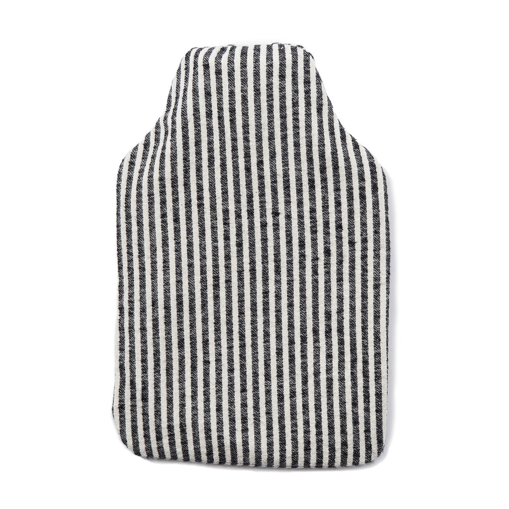 Brushed Cotton Hot Water Bottle Harbour Stripe Tori