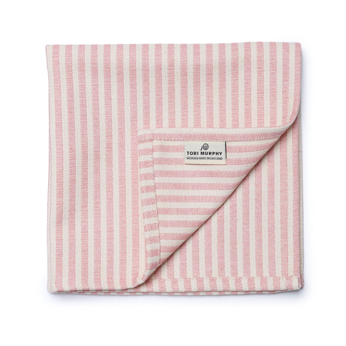 Harbour Stripe Napkin set of 2, Rose