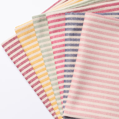 Harbour Stripe Napkin, Rainbow set of 6