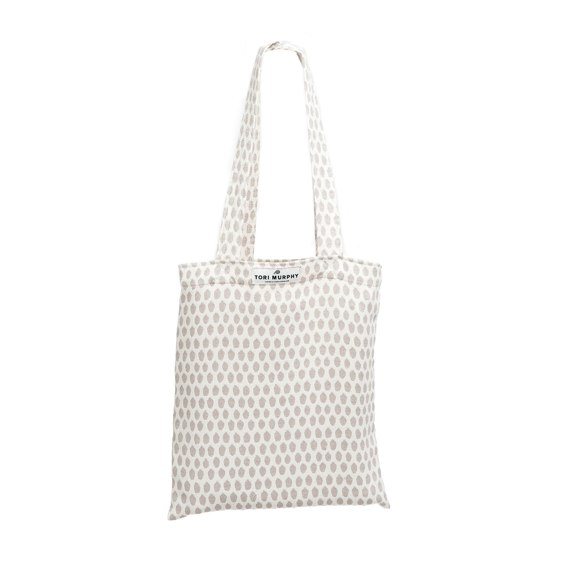 Cotton Market Tote Bag-Fawn on Linen | Tori Murphy