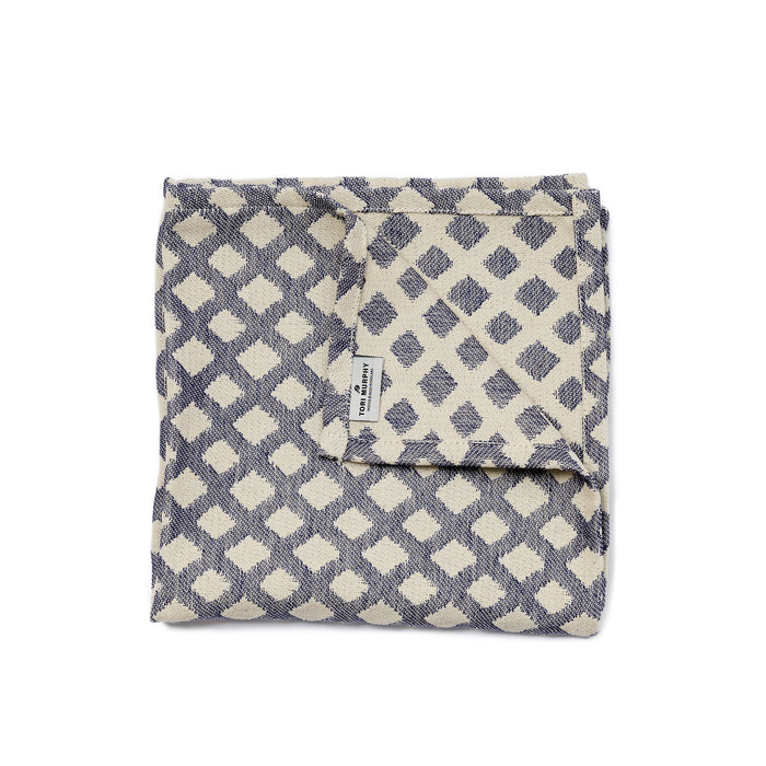 Cadogan Check Napkin Set of 2, Navy