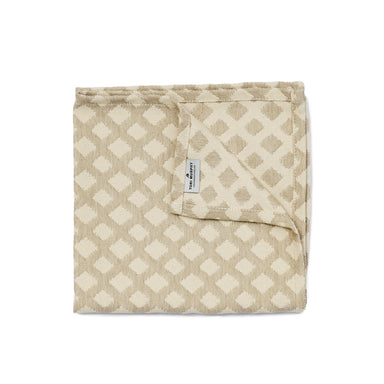 Cadogan Check Napkin Set of 4, Mushroom