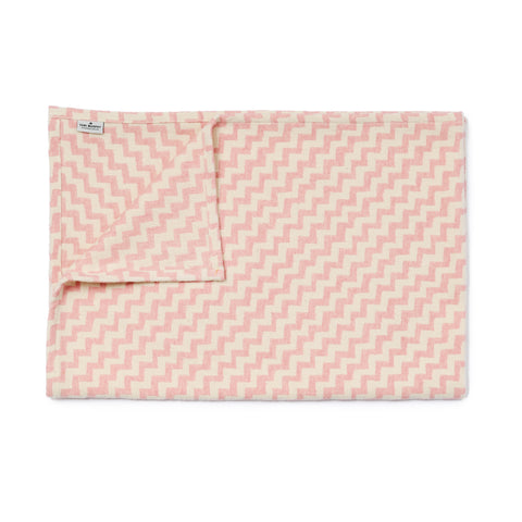 Climbing Chevy Baby Blanket Rose