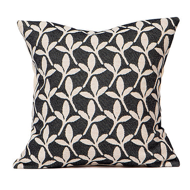 Little Cress Cushion Black