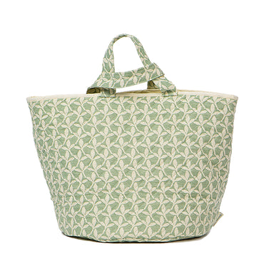Little Cress Storage Basket Olive