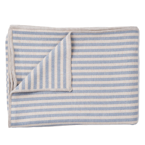 Merino Lambswool Throws | Harbour Stripe Throw