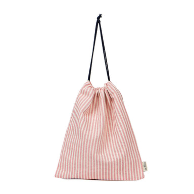 Harbour Stripe Gym Bag in Rose
